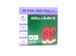 Sellier & Bellot Steel Ατσάλινα 39gr Magnum