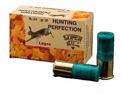 Φυσίγγια Superkill Hunting Perfection Lagos 38gr