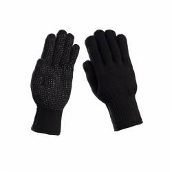 γάντια πλεκτά και fleece απλά και με επένδυση thinsulate σε μπλε ... 1766dd50ed7