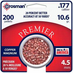 Βολίδες Crosman Copper Magnum Domed 4,5mm 200τμχ