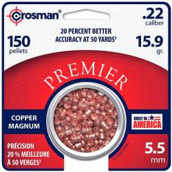 Βολίδες Crosman Copper Magnum Domed 5,5mm 150τμχ